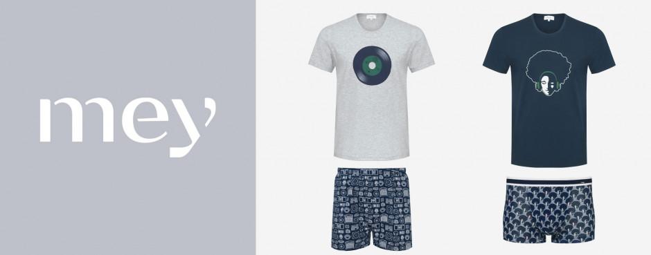 Loungewear Fashion von Mey Herrenwäsche