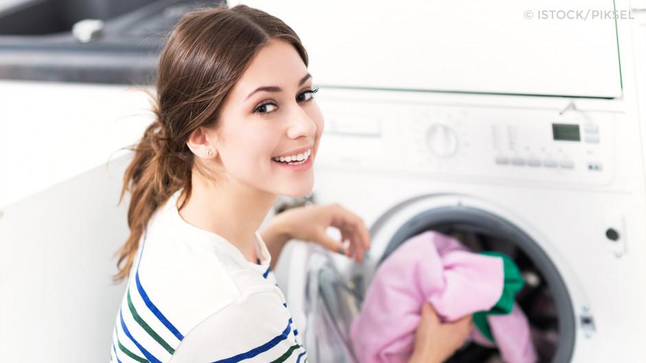 Waschmaschine befüllen
