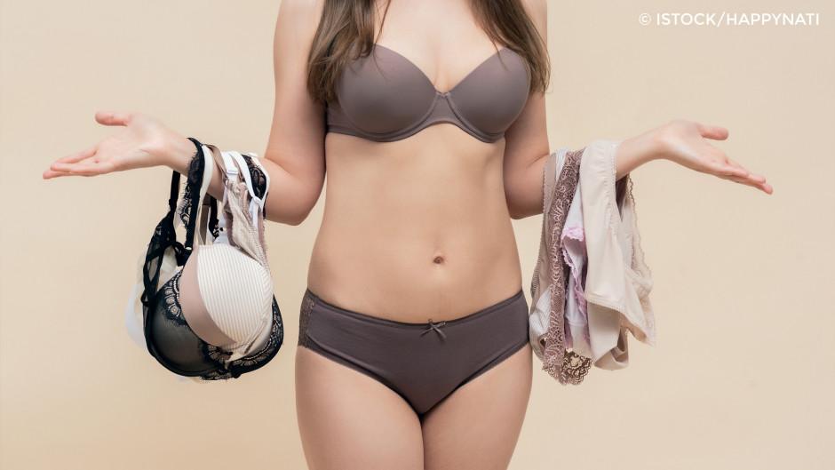Schwierige Wahl: es gibt viele verschiedene Stilrichtungen - auch bei der Unterwäsche