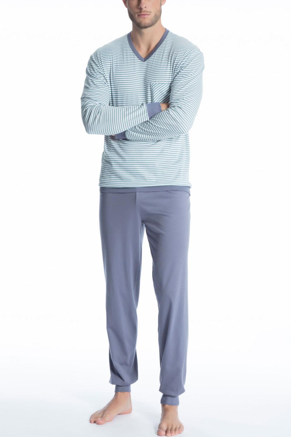 23f152a80c Vergrößern Abbildung zu Pyjama mit Bündchen Relax Streamline 2 (41567) der  Marke Calida aus der ...
