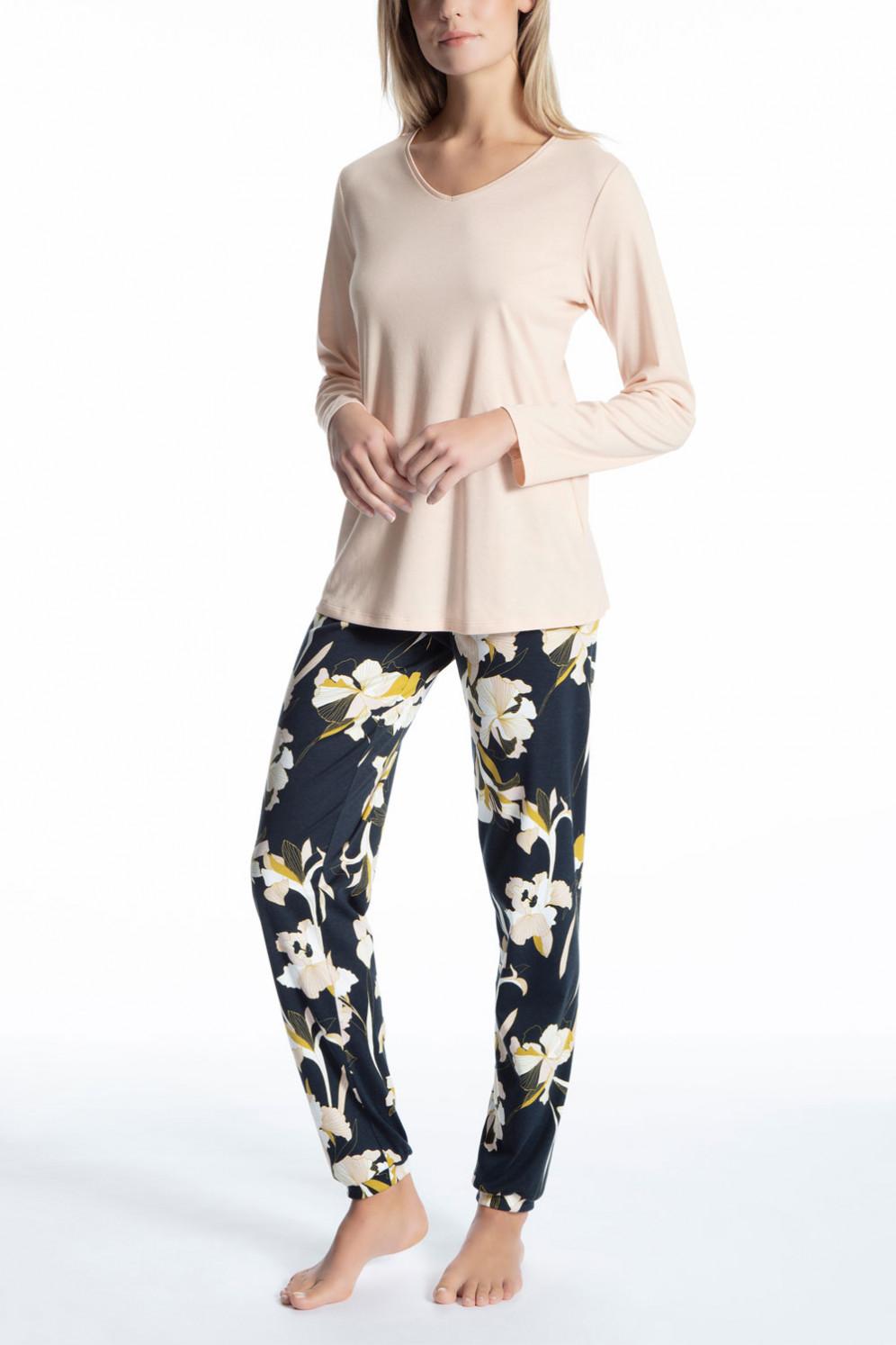 low priced 9da0a 55b05 Pyjama lang mit Bündchen